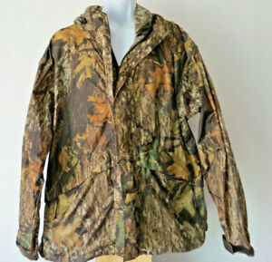 CABELA-039-S-MOSSY-OAK-BREAK-UP-JACKET-camo-camouflage-camoflage-coat-hooded-XL