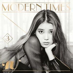 K-POP-IU-3rd-Album-Modern-Times-Normal-Ver-CD-Booklet-Sealed
