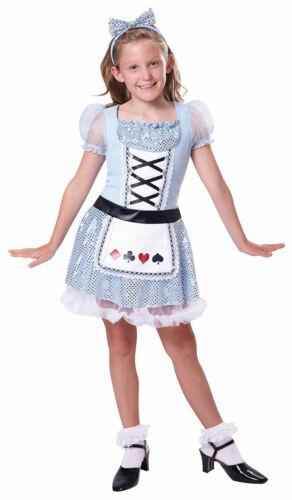 KIDS CARD GIRL FAIRY TALE ALICE PRINCESS FANCY DRESS BOOK WEEK SIZE 4-12 YEARS