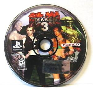 Ps1 Tekken 3 Sony Playstation 1 1998 Disc Only Read Ebay