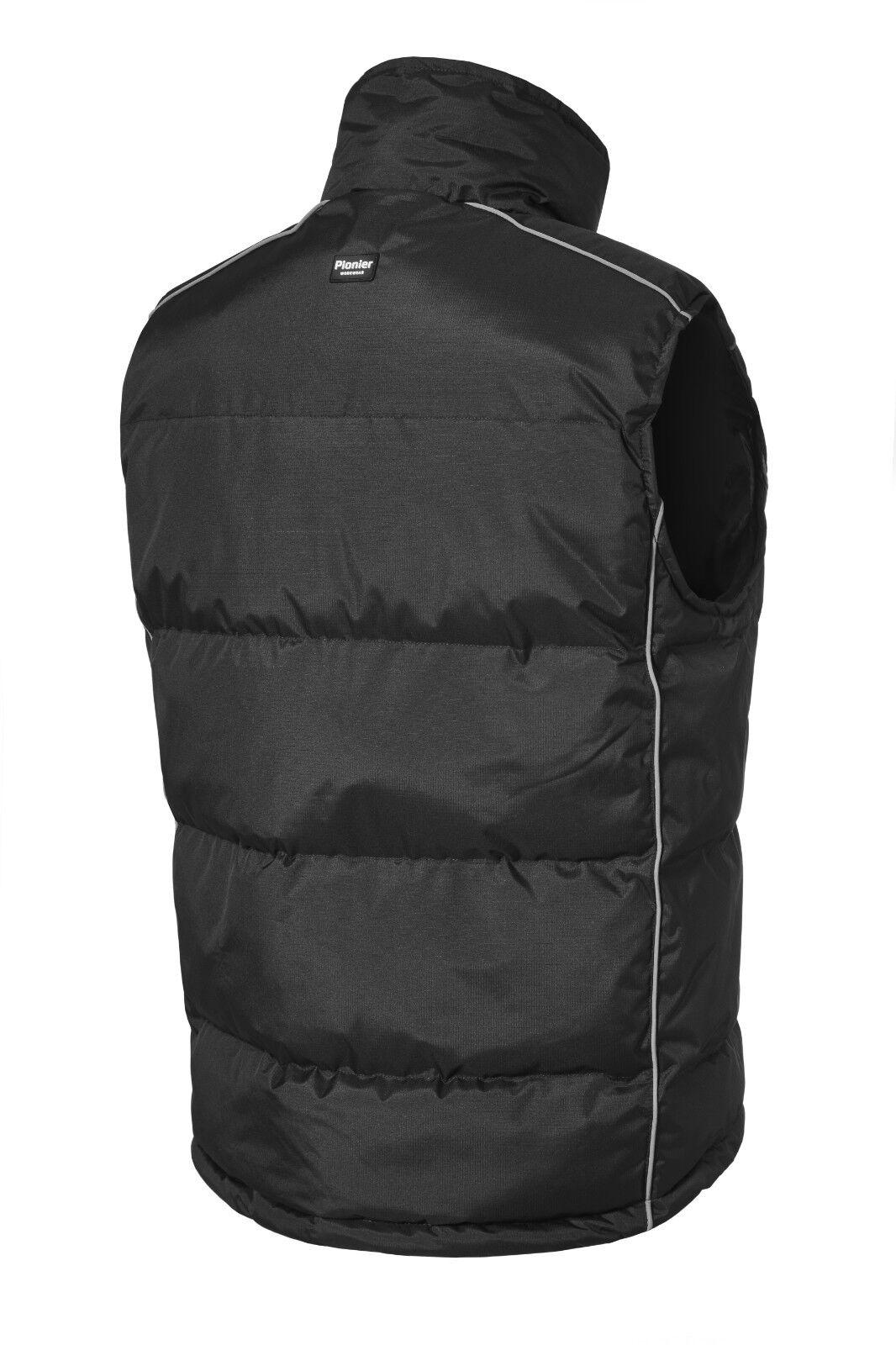 Pionier chaleco 80031 negro Workwear Vest thermoweste trabajo chaleco ACOLCHADO thermoweste Vest b74c12