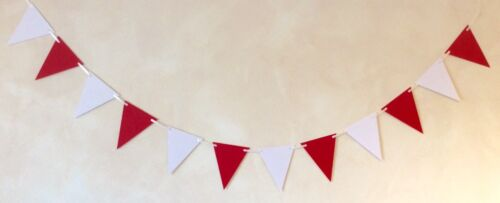 ARSENAL TEAM COLOURS BOYS BIRTHDAY BUNTING PARTY BANNER 16 FLAGS PENANTS