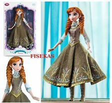 """Disney Store Frozen Anna Limited Edition 5000 Collector 17 """" Doll NEW"""