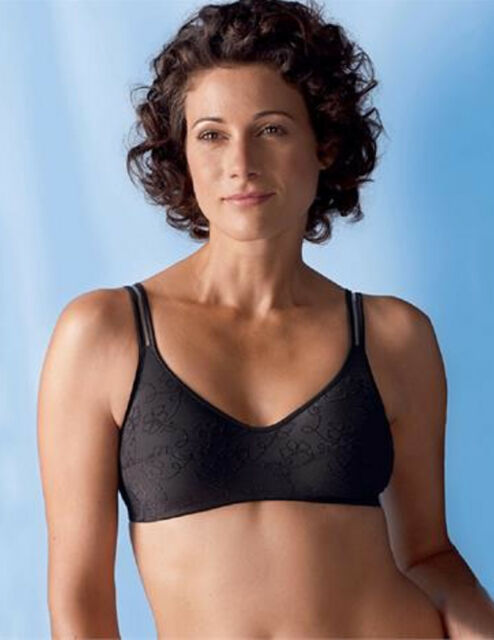 Anita Care AN5381X  Mastectomy Medium Support Twin Pockets Bra White or Black