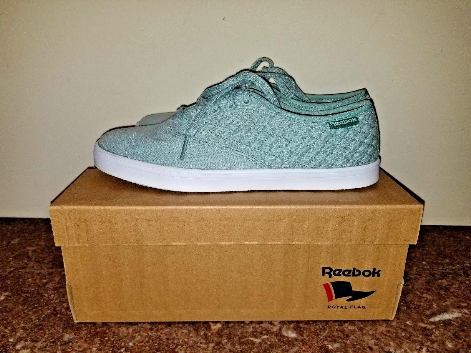 Reebok Royal Tenstall Walking Casual Women's shoes Size 7.5 Jade Green
