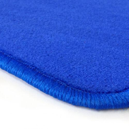 Velours blau Fußmatten passend für MERCEDES W107 SL Bj 71-89 4tlg
