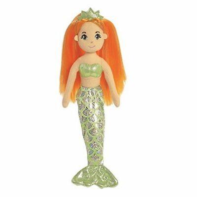 """10"""" Sea Sparkles Sirena Ambra Giocattolo Morbido ~ ~ Aurora World ~ 33210 ~ 10 Pollici ~ Bambola Di Pezza ~ Nuovo-mostra Il Titolo Originale Guidare Un Commercio Ruggente"""