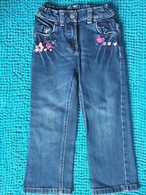 Bello Tg. 98 Kiki & Koko Bellissima Pantaloni Jeans Pantaloni Jeans Ragazza Xxl-immagini!!!-mostra Il Titolo Originale