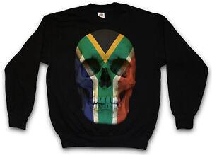 maglione Sudafrica del della maglione cranio del Bandiera bandiera del del Sudafrica della bandiera xaqwp1wFC