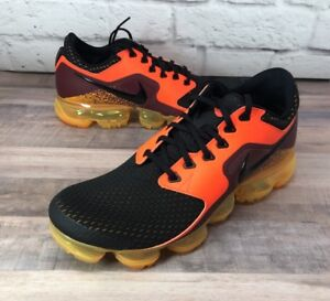 1c31b8f071e38 Nike Air VaporMax CS Total Crimson Black Laser Orange AH9046 800 ...