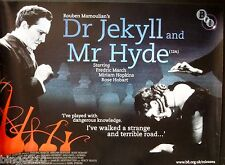 DR JEKYLL &  MR HYDE 1931 ORIGINAL BFI RE RELEASE QUAD POSTER FREDRIC MARCH