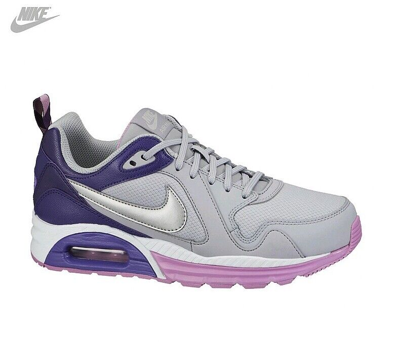 NIKE wmns AIR MAX TRAX grigio viola rosa SNEAKERS Comfortable and good-looking