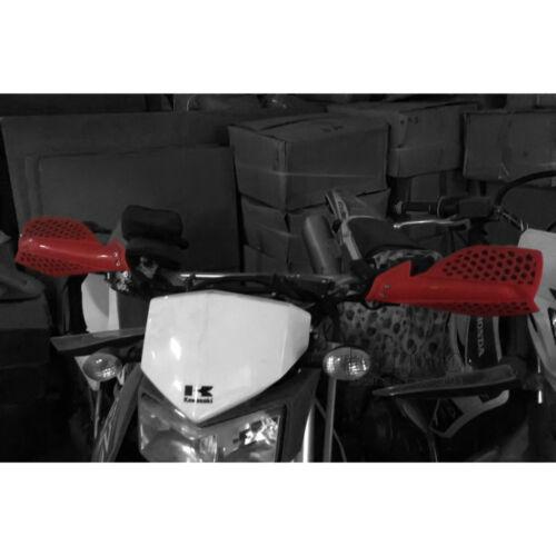 "7//8/"" 22mm Universal Motorcycle Hand Guard Handlebar Protector Dirt Bike Green"