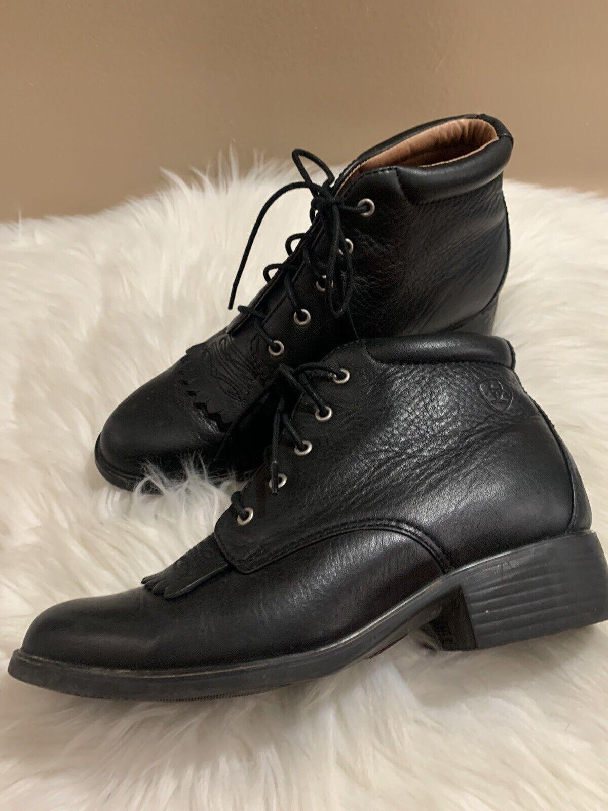 Ariat Women Boots Josie Size 6 B Black