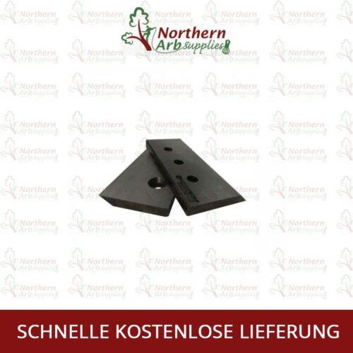 2 Klingen Original Rotatech Holz Häcksler Klinge für Vermeer 625 Holzhäcksler