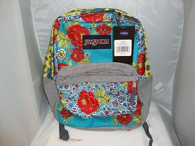 JanSport Super FX Backpack School Travel Backpack Multi