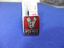 vtg badge ford transit commercial van dealership 1960s owner advert advertising
