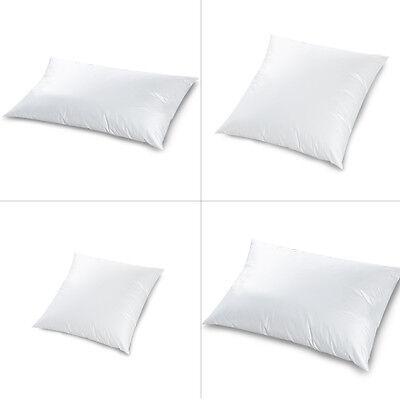 Luxus Baumwolle Kopfkissen Kissen 40x40 cm I 40x80 cm I 50x70 cm I 80x80 cm Weiß