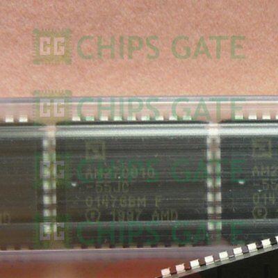 2PCS New AMD AM27C010-90JC 27C010 1MBIT OTP EPROM PLCC32