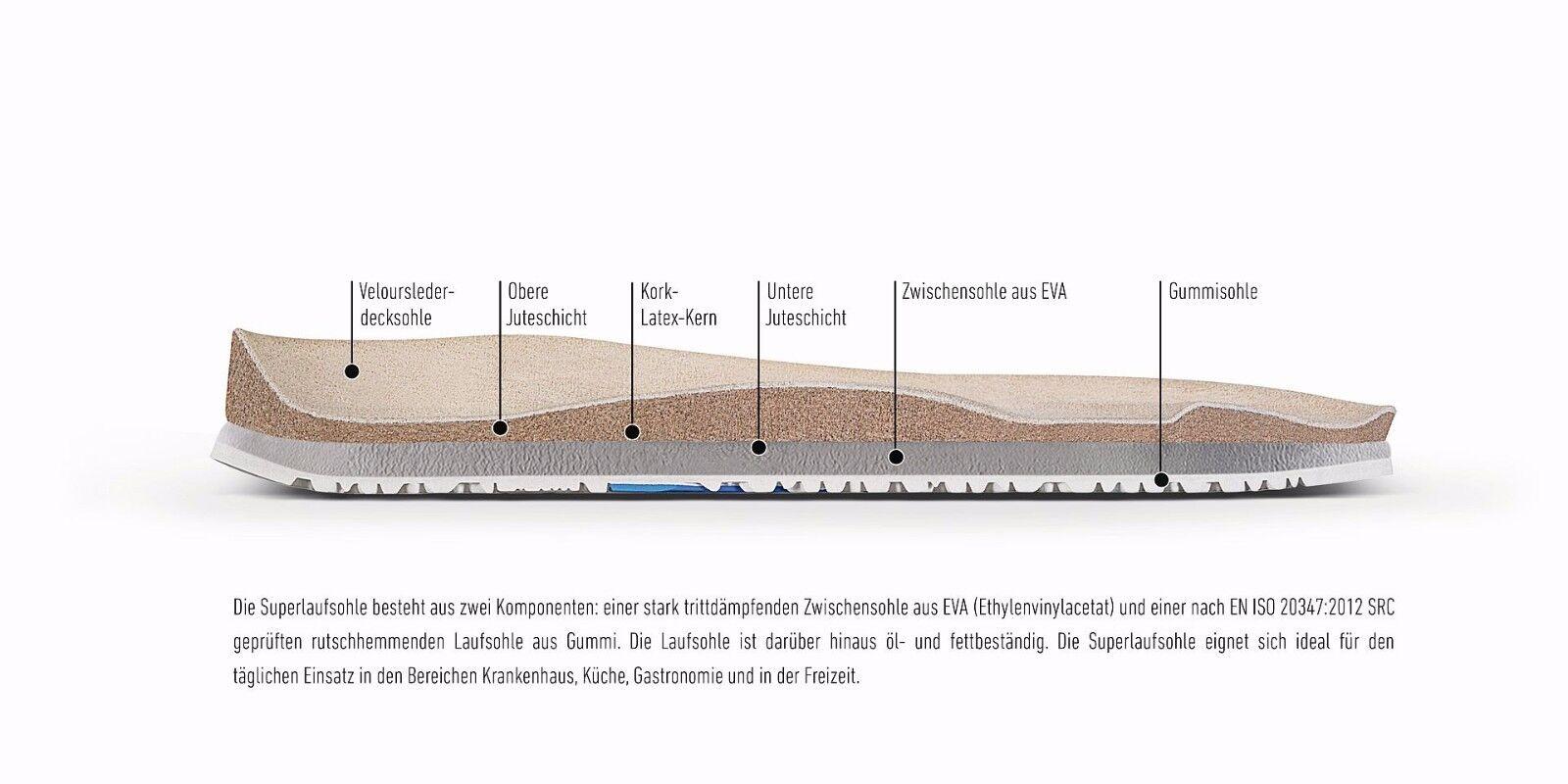 Birkenstock 36,37,40,41,42 Kay dog Blau buster 36,37,40,41,42 Birkenstock mit Fersenriemen Superlaufsohle eacafb