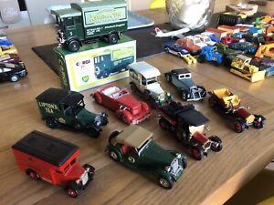Collection de voitures anciennes Vintage Matchbox Wheels Of X9