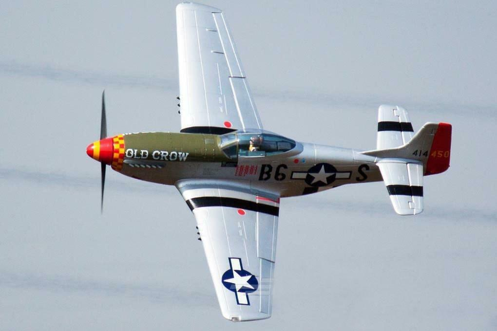 gratuitowing P-51D  HP  Old Crow  1410mm (55 ) Wingspan - PNP  negozio outlet