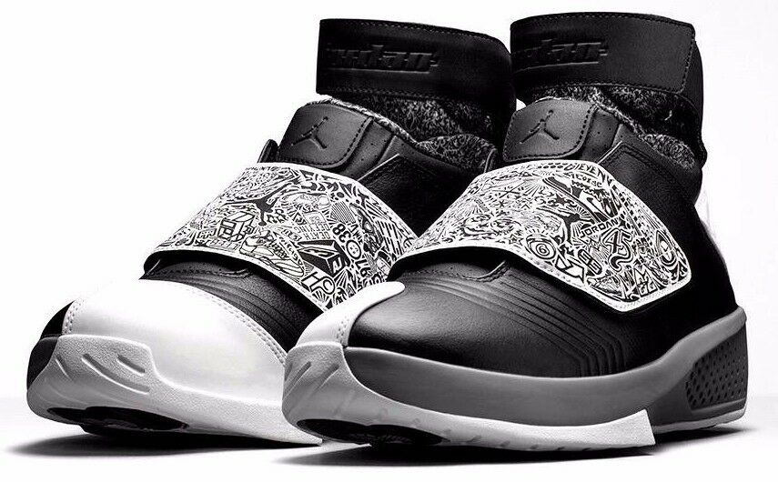 Nike air jordan xx 20 cool grauer blk oreo - basketball - schuhe blk grauer wht 310455-003 mens. 6b7dff