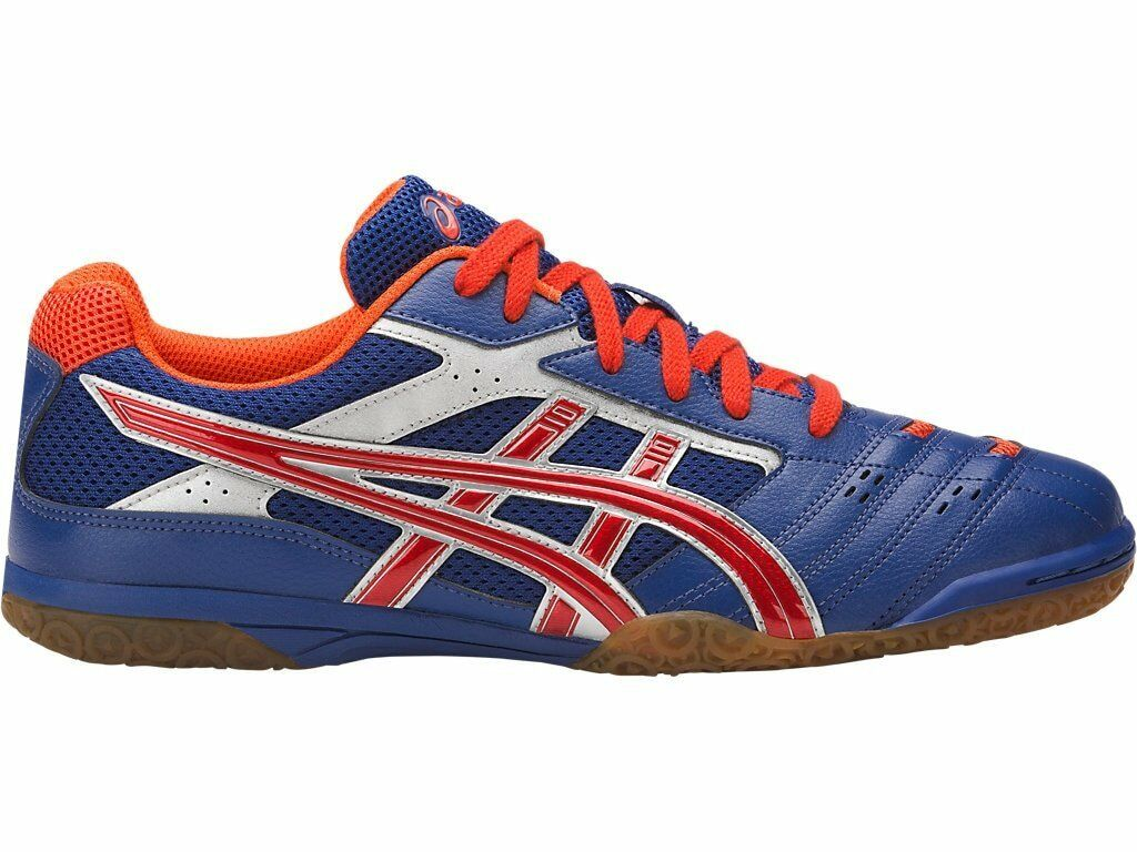 Asics Attack Hyperbeat SP 2 bluee Red Men Table Tennis shoes TPA332-4906