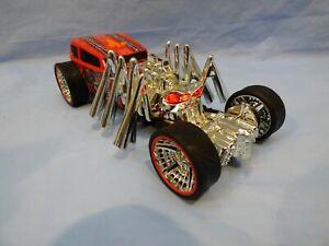 Hot-Wheels-Extreme-Accion-Street-Creeper-Coche-Arana-Motorizada-Monster-Dragster