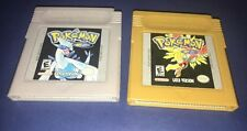 Pokemon Gold And Silver Authentic Nintendo Game Boy Lot