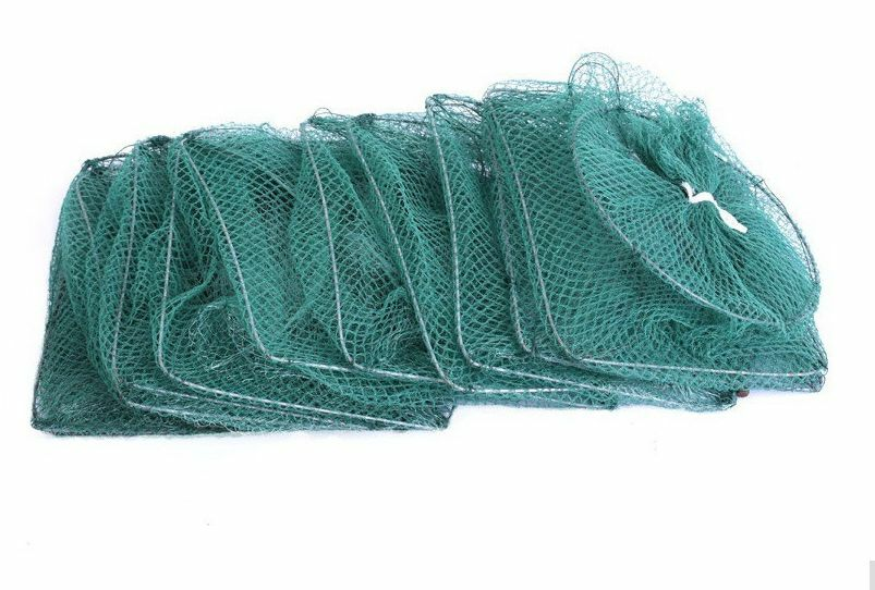 Fish Fishing Trap Shrimp Crab Pot Net Survival Prawn Cage Lobster lungo gree gree