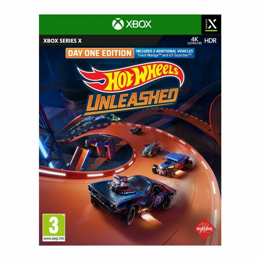 Hot Wheels Unleashed - Day One Edition (Xbox Series X) BRAND NEW AND SEALED