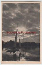 (98896) AK Prien-piano, sera il Chiemsee, prima del 1945