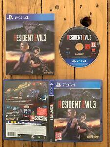 Résident Evil 3 , Lenticulaire édition - PS4 - Jeu Fr