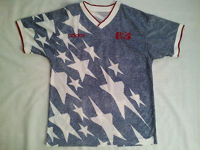 VINTAGE RARE 1994 ADIDAS WORLD CUP USA NATIONAL TEAM SOCCER JERSEY | eBay