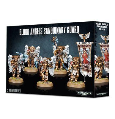 Warhammer 40K Ángeles de sangre marines espaciales sanguinaria Guardia Angelus boltguns