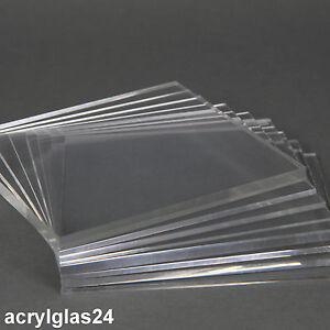 Acrylglas PLEXIGLAS® DEGLAS® XT klar 6 mm dick Größe S UV-beständig Z