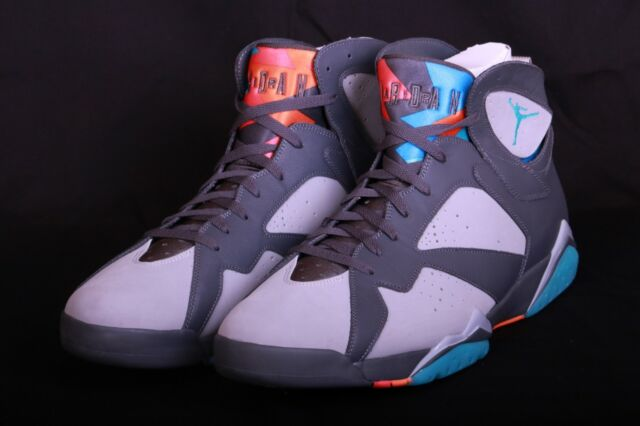 competitive price f3252 0cc6b Nike Air Jordan 7 Retro Basketball Shoes Barcelona Days 304775 016 Sz  9.5-10.5