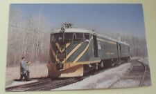 Greater Winnipeg Water District Mack Rail Car No 31 in 1975 Train Postcard
