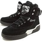 Ewing Athletics 33 Hi Black White Suede Patrick Ewing Sneakers