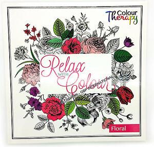 Tallon Livre de Thérapie par les coloriages pour Adultes