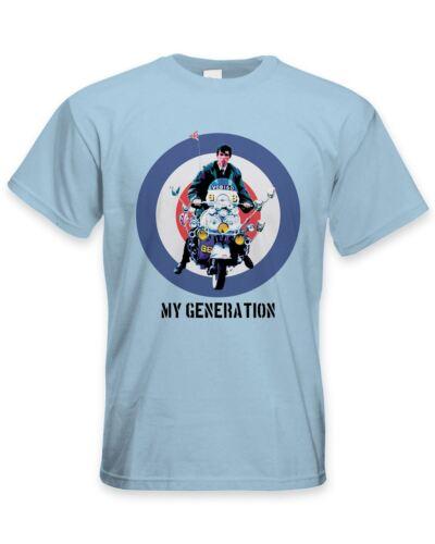 My Generation Mod Scooter Men/'s T-Shirt Jam Fashion The Who Quadrophenia