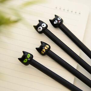 4-pcs-The-Black-Cat-Gel-Pen-Cute-Cat-Ink-Pens-Kawaii-Stationery-Office-Equipment