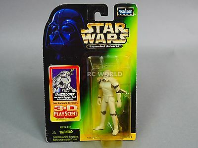 Star Wars POTF2 Spacetrooper Expanded Universe Action Figure Loose Space Trooper
