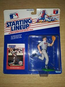 Kenner Starting Lineup 1988 Tom Brunansky Minnesota Twins SLU Figure
