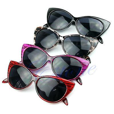 Sexy Retro Style Cat Eye Sunglasses Outdoor Fashion Women Punk Shades Eyeglasses
