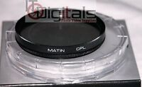 55mm Cpl Circular Polarizer Cir Polarizing Polar Cir-pl Lens Filter Matin 55 Mm