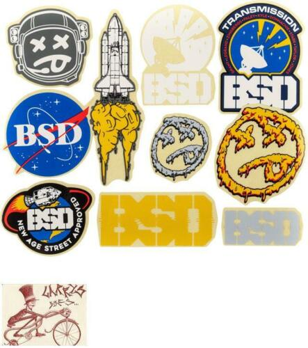 BSD ASSORTED 10 STICKERS