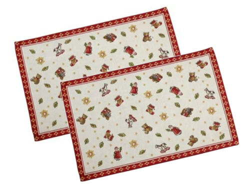 Villeroy /& Boch Toys Delight Platzset Spielzeuge 2 tlg  rot bunt 32 x 48 cm 6120