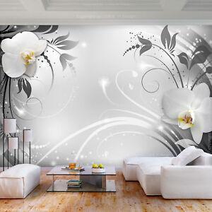 Vlies Fototapete 3d Effekt Blumen Tapete Schlafzimmer Wandbilder Xxl